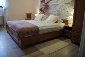 de luxe szoba 2 személy részére +1 fő részére pótágyazható, zuhanyzóval